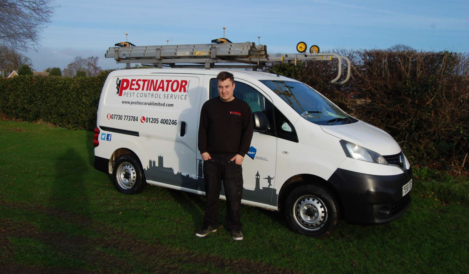 Pest Control Agreement Plan – Pestinator LTD Covering Lincolnshire